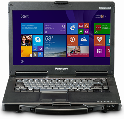 Panasonic CF-53 Semi Rugged Notebook Main